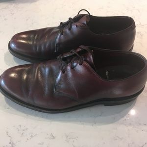 Wright Arch Preservers Brown Leather Oxfords